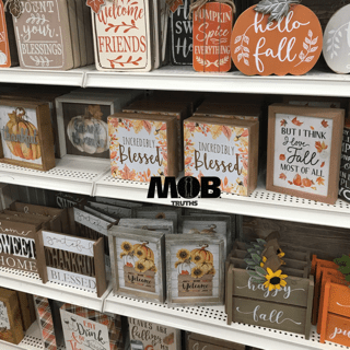 Cute fall decorations for fall family fun