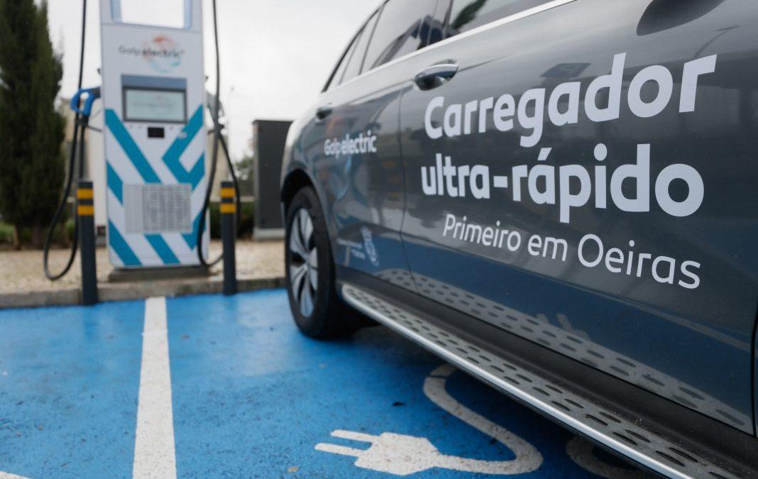 Oeiras é o primeiro município do país com rede de carregamento ultrarrápida