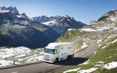 Camiões a hidrogénio superam um milhão de quilómetros