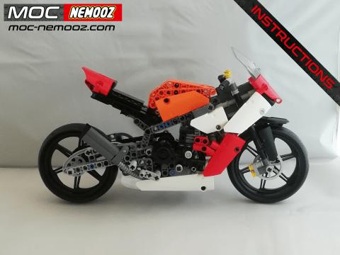 lego technic honda cbr 1000