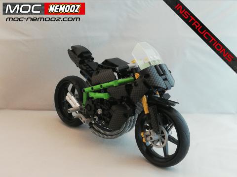 lego technic kawasaki h2r