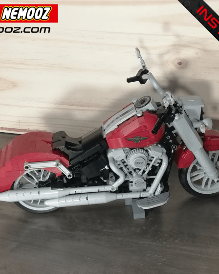 LEGO-CREATOR_Harley davidson Softail Deluxe
