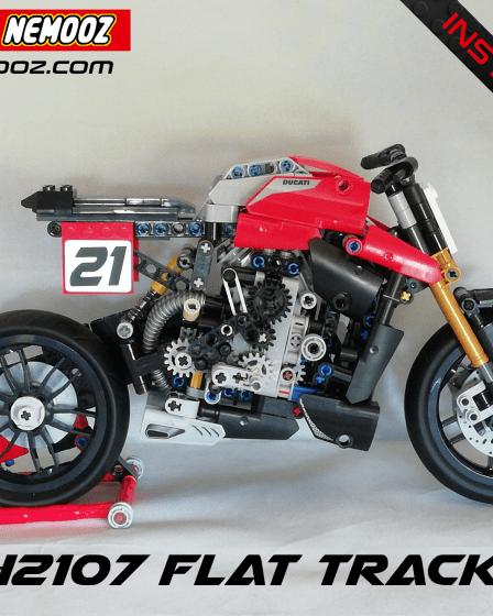 lego technic 42107 flat track
