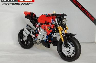 lego ducati 42107 monster V4