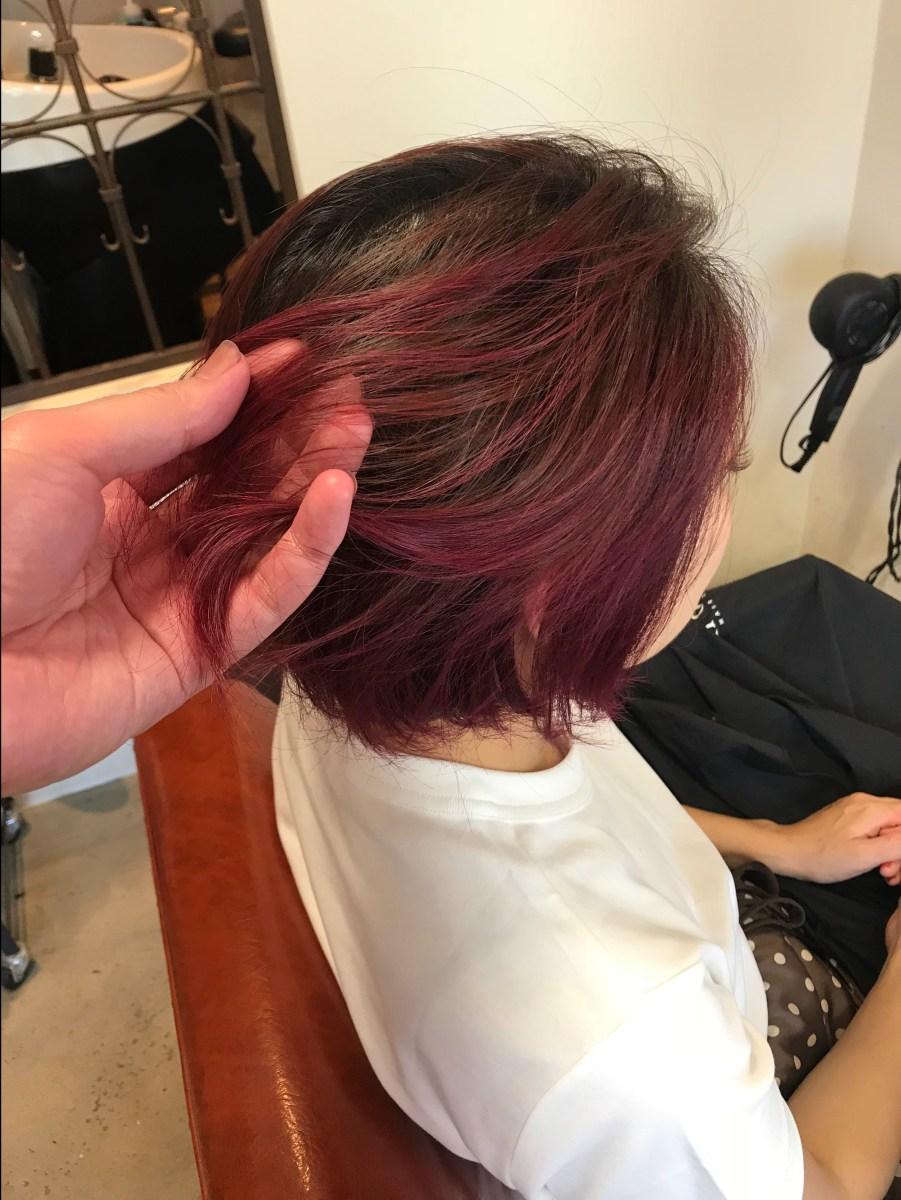 資生堂 カラー ミューズの使い方はこれ!カンタンに作るめっちゃピンクのヘアカラー!!