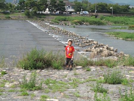 渡月橋 大堰(おおい)川