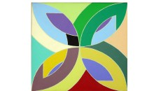 Flim Flam,	1975Acrylic on canvas, 8 1/2 x 8 1/2 inches (21.59 x 21.59 cm)Gift of Ruth and Marvin Sacker