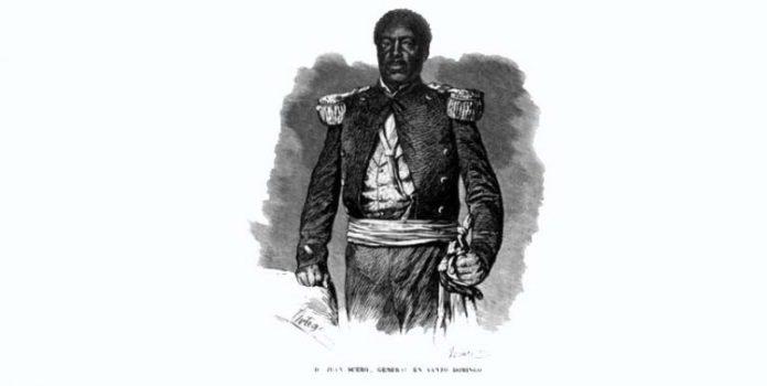 """Ceferino Suero Carmona, """"El Negro Cid"""", Jefe militar en Moca, 1864"""