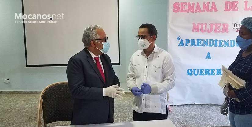 Ministro de Salud visita Espaillat por pedido del senador Vargas