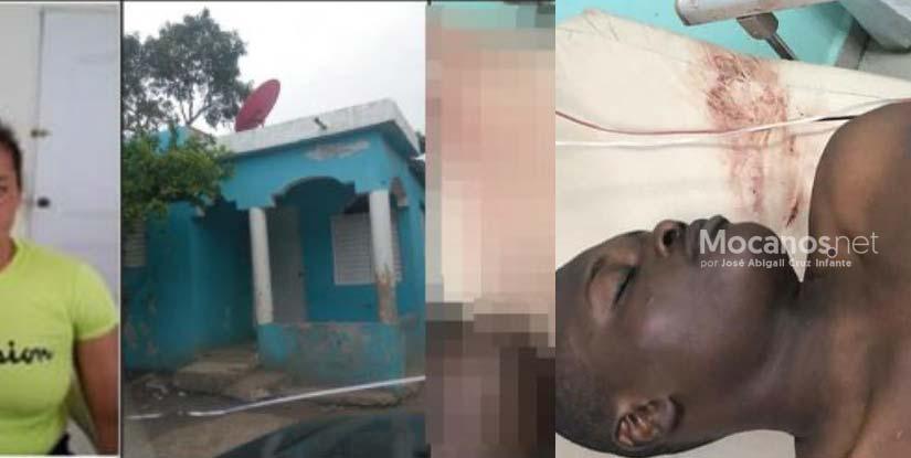 Mujer mató a su marido con estocada