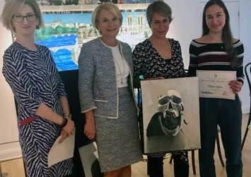Winners Announced in Westport Arts Center's Annual High School Student Art Exhibition
