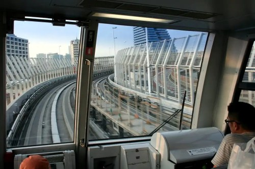 Yurikamome tokio tren automatizado