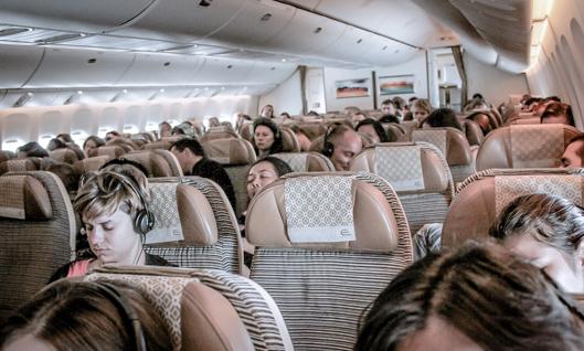 Escoger asiento en el avion