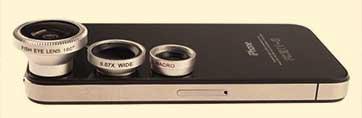 lentes para ipod y android