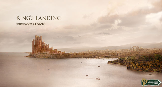 Game of Thrones - king's landing - desembarco del rey, Dubrovnik Croacia