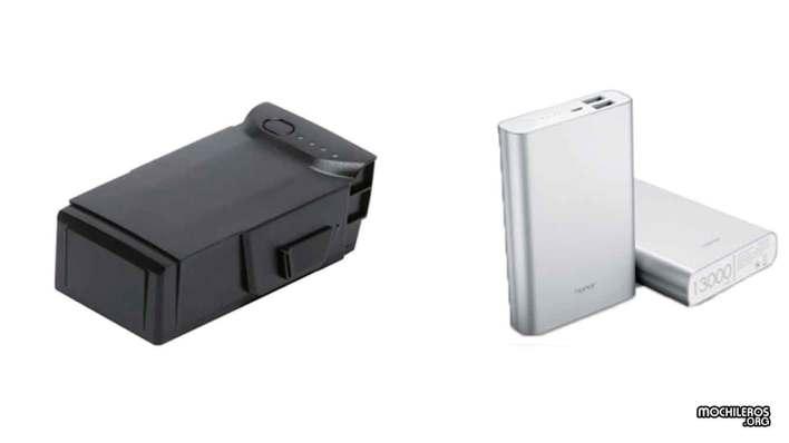 Batería de drone y powerbank
