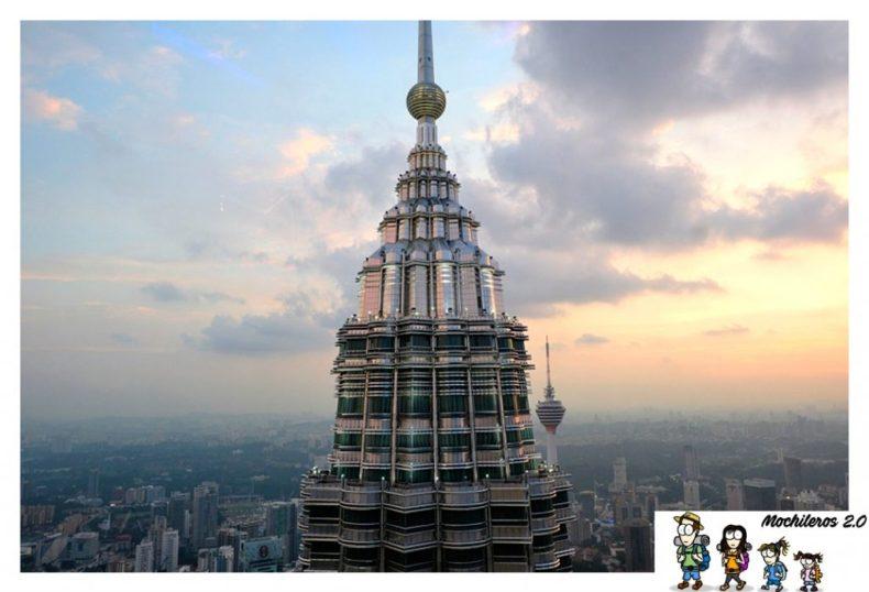 Sunset Petronas Towers