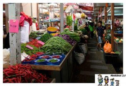 Mercado de Chow Kit , Kuala Lumpur