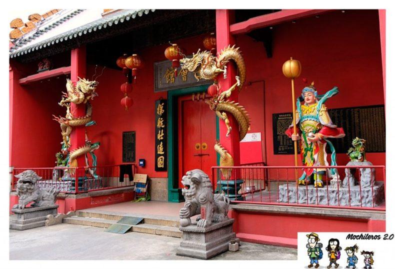 Templos budistas chinatown Kuala