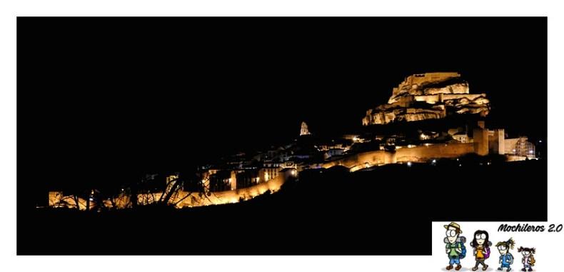 foto nocturna morella