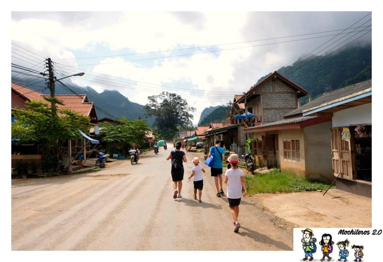 carretera principal nong khiaw
