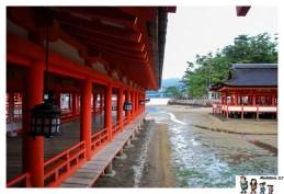 marea baja templo miyajima
