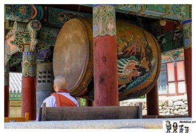 tambor templo haeinsa