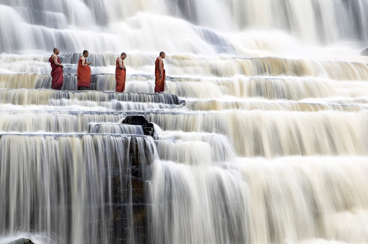 Da lat Pongour Waterfall