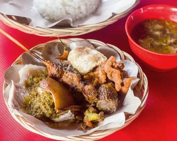 platos tipicos de Indonesia