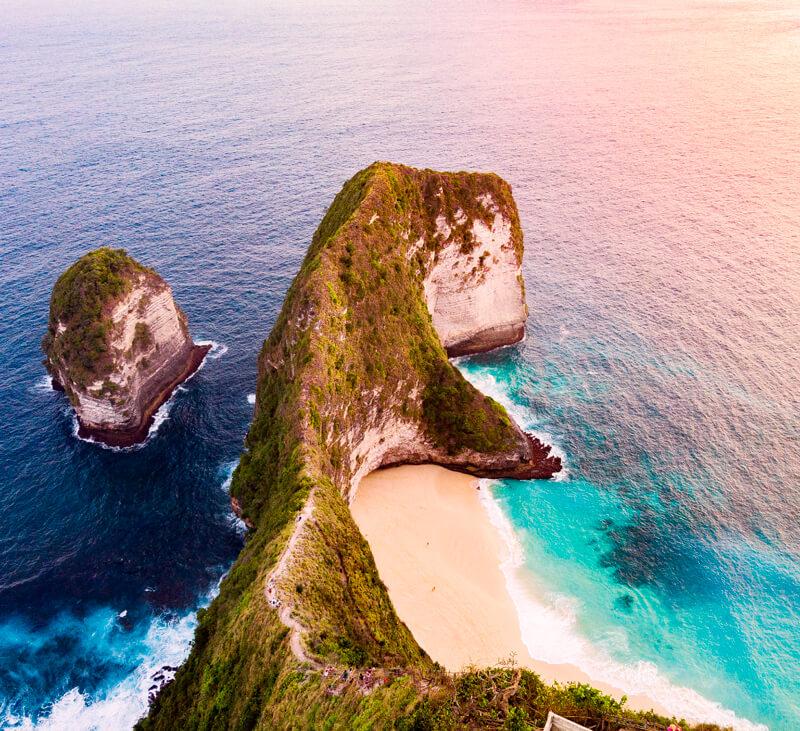Kelingking beach Indonesia que hacer en Nusa Penida