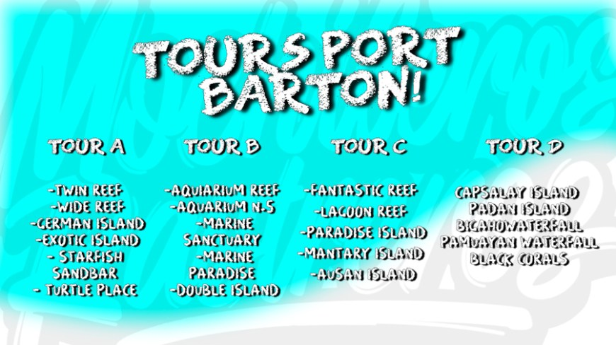island hopping port barton tours actualizados