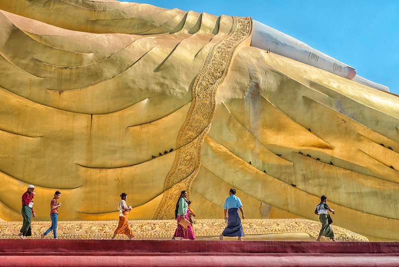 El buda mas grande el mundo Monywa