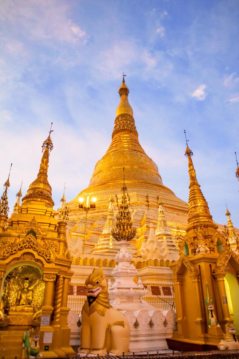 Que ver Yangon Myanmar pagodas