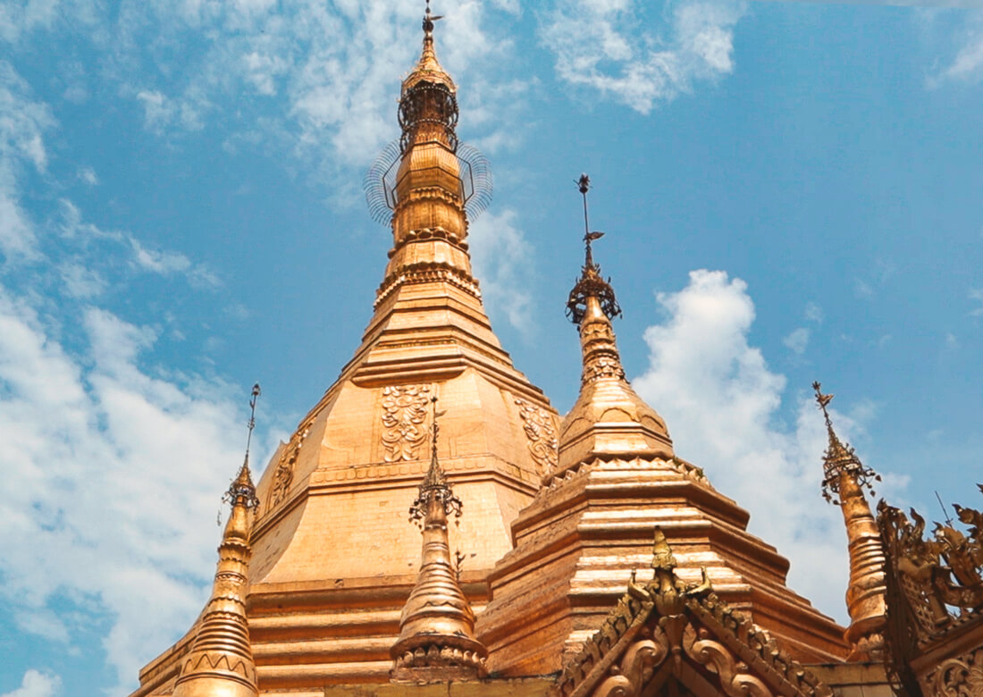 Yangon pagodas mas importantes Myanmar
