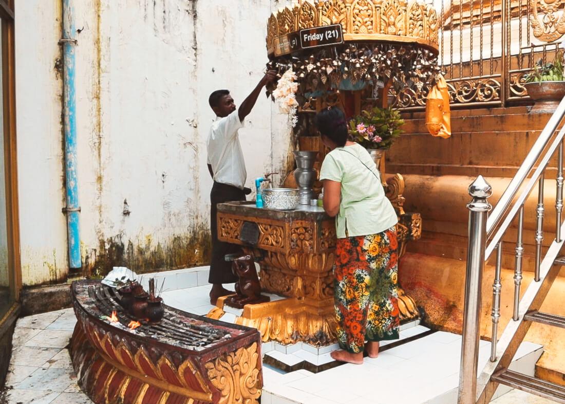 Que ver Yangon guia templos y pagodas