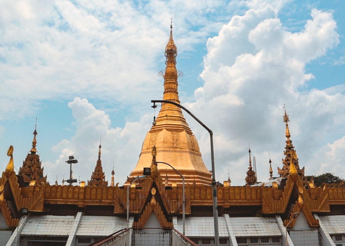 Donde comer Yangon templos y pagodas Myanmar