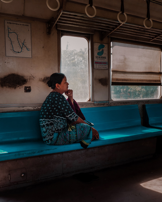 Guia Yangon Myanmar tren circular