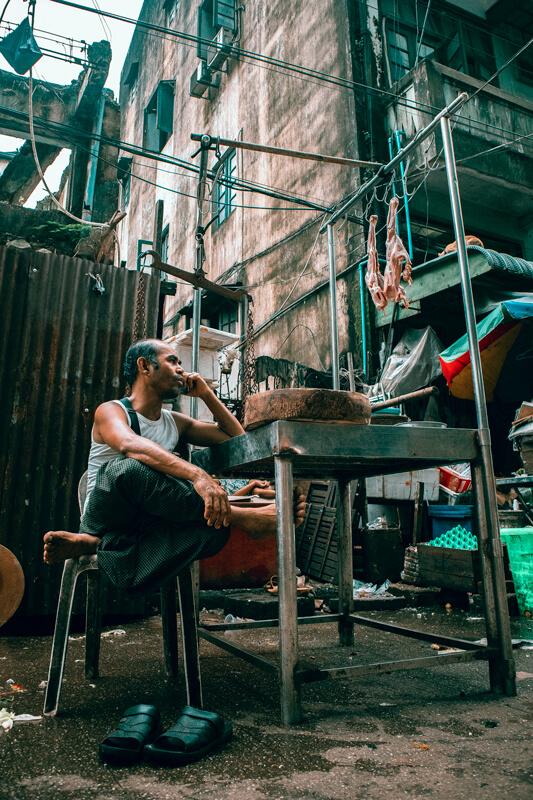 Chinatown que ver Rangun