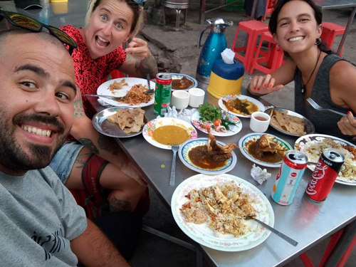 Comer en Myanmar guia de viaje