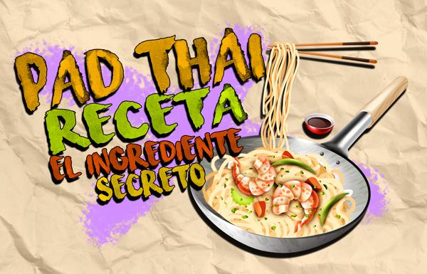 Receta Asiatica Pad Thai