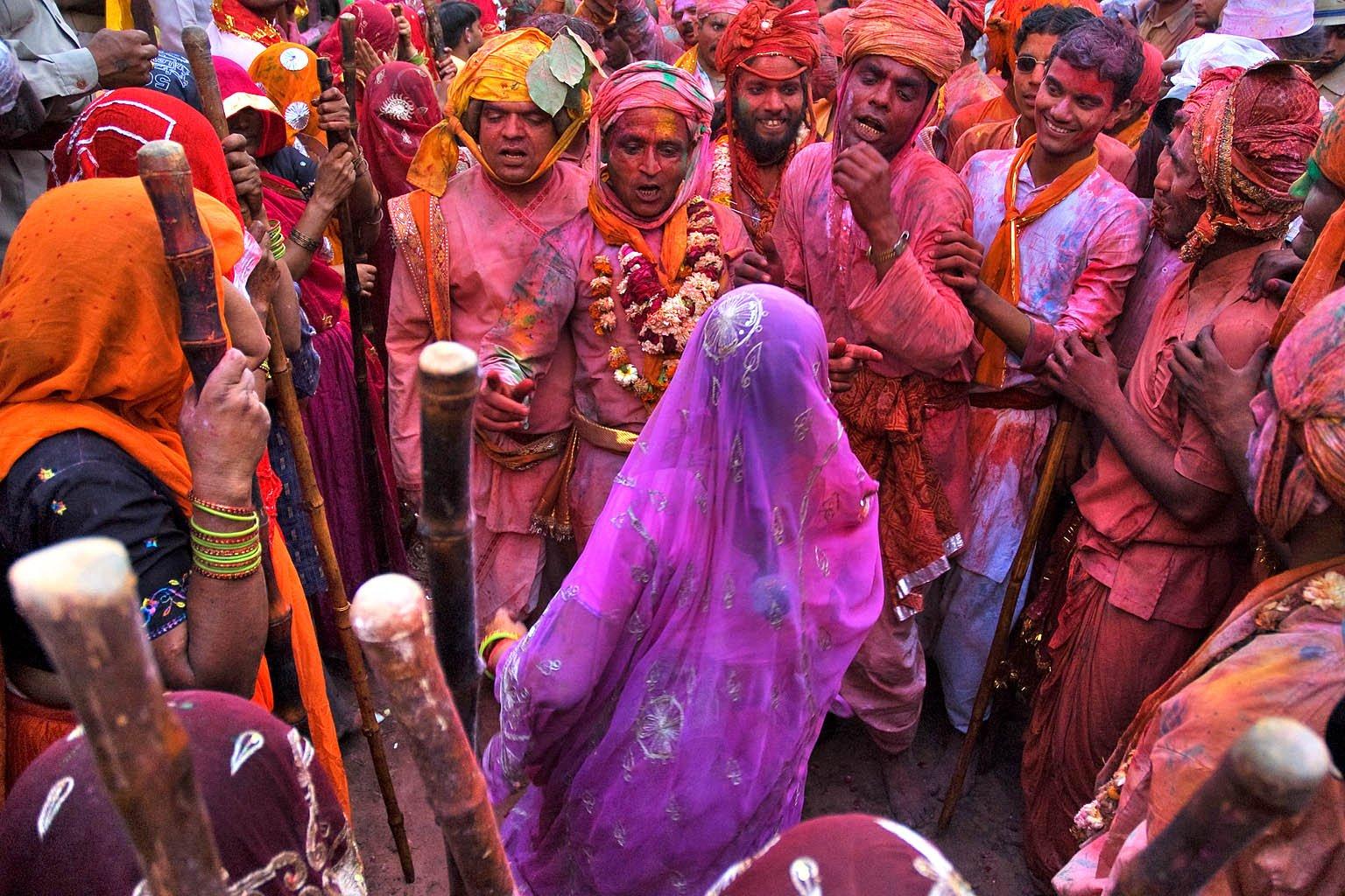 Seis lugares para celebrar el festival de Holi en la India ...