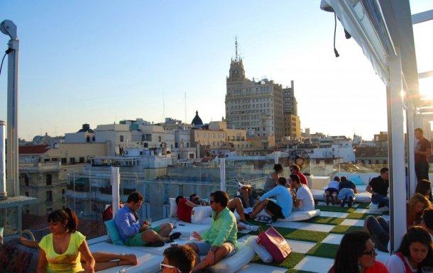 Madrid-terrazas-vistas-panorámicas-hotel-Room-Mate Oscar