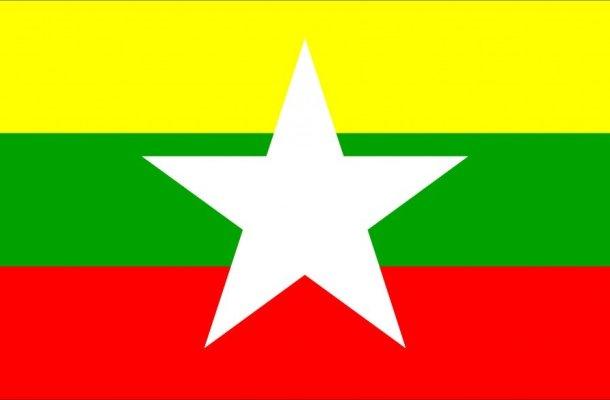 Bandera de la República de Myanmar
