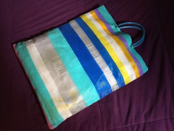 Bolsa de sábanas del hostal
