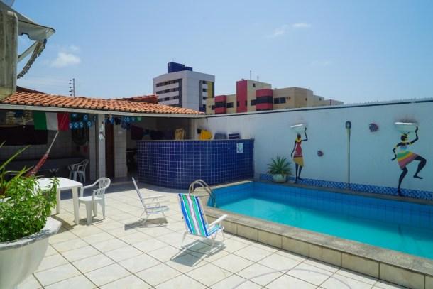 Tijuana Hostel Sao Luis piscina