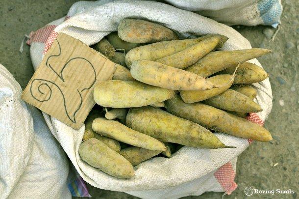 Apunta gastos. zanahorias amarillas 25 som_Kirguistan