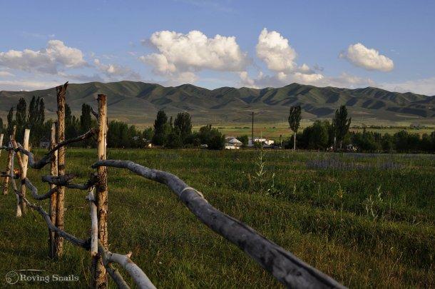 Monta tu itinerario. De pueblo en pueblo por Kirguistan