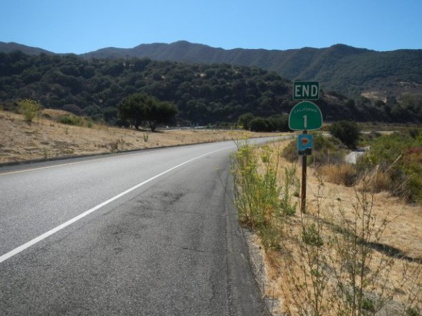 California Ruta 1 carretera