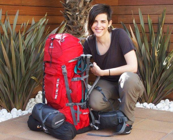 Cristina Xercavins viaje por África en solitario
