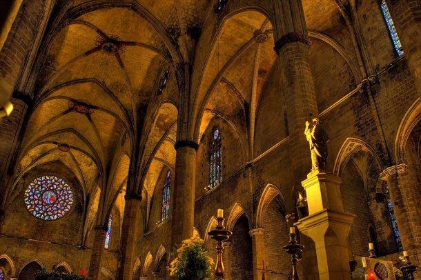 Iglesia-Santa-Maria-del-Mar-Barcelona
